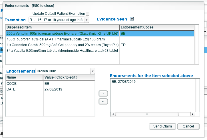 Rxweb pharmacy software new feature